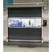 High Speed 1.5m/s 600N Automatic Security Shutters Manufactures