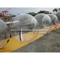 Transparent Dia 2m Inflatable Water Walking Ball For Swimming Pool Manufactures