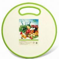 Buy cheap Plastic Cutting Board, Made of Plastic and TPR, Available in Various Colors, FDA from wholesalers