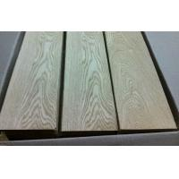 Quality 0.5mm Thick Oak Flooring Veneer Wood Sheet , Fine Straight Crown Grain for sale