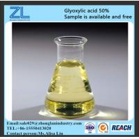 Buy cheap glyoxylic acid 50% used for fertilizer,CAS NO.:298-12-4 from wholesalers
