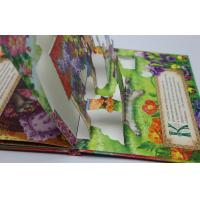 Quality Pantone Color Pop Up Book Printing Service , Offset Paper / Wood-Free Paper for sale