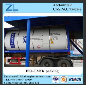 Cas No 75-05-8,Acetonitrile(ACN) Manufactures