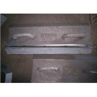 Pearlitical Cr-Mo alloy steel lifting bars with 430mm long insert in the rubber Manufactures