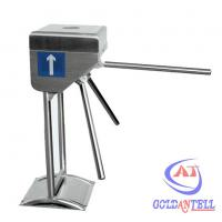 China Direction Display Effective Tripod Access System , Bus Coin turnstiles gates on sale