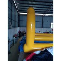 0.55MM PVC Tarpaulin Inflatable Turbo Chute / Long Inflatable Water Slides For Kids Manufactures