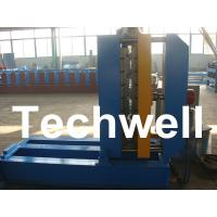 0.25 - 0.8mm Thickness PLC Control Crimped Curving Machine With 2.2KW Manufactures