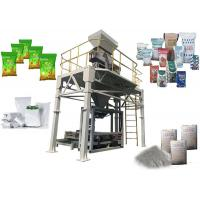 PLC Control Automatic Bag Packing Machine , Filling And Sealing Machine Open Top Bag Manufactures