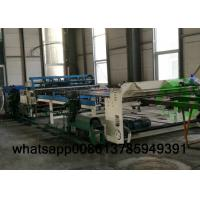 High Speed Fence Mesh Welding Machine , Fully Automatic Fencing Machine 2.5-6mm Wire Dia Manufactures