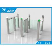 China React Quickly Stainless Steel Turnstiles Bi - Direction System Long Service Life on sale