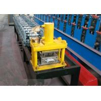 5.5 M Length Roll Shutter Door Forming Machine With 8 - 15m / Min Working Speed Manufactures