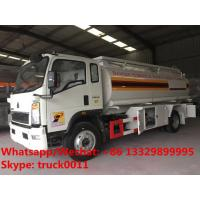 customized OEM SINO TRUK HOWO 10M3 refueler truck for sale, Factory sale good price HOWO 4*2 LHD oil dispensing truck Manufactures