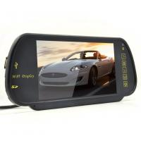 China 7 Inch TFT Rear View Mirror Screen , Car Reverse Camera Contrast Ratio 350 / 1 on sale