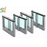 RFID Smart Automatic Fast Speed Gate Swing Barrier Gate Stylish Design OEM Manufactures