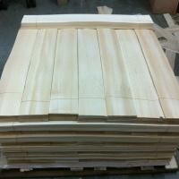 Light Yellow Wood Flooring Veneer Natural , Hardwood Floor Veneer Manufactures