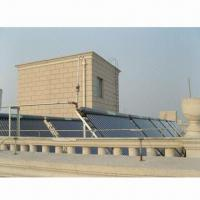Solar Hot Water System with About 925 Square Meters Collector Area Manufactures