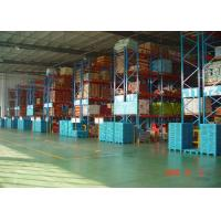 High Capacity Storage Pallet Warehouse Racking / Selective Pallet Racking System Manufactures