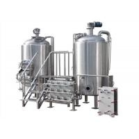 Customization Of Craft Beer Brewing Equipment , Durable Beer Production Line Manufactures