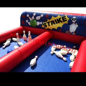 inflatable human bowling game , inflatable human bowling game , inflatable bowling Manufactures