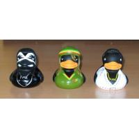 Soft Aborigines Shape Assorted Rubber Ducks , Personalised Rubber Ducks With Names On Manufactures