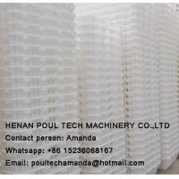 Poul Tech White Orange Color PE Material Broiler Chicken Carriage Cage & Plastic Transport Cage for Poultry Farm Manufactures