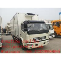 hot sale ISUZU Euro4 120hp 3 ton 4x2 refrigerator cooling van for sale Manufactures