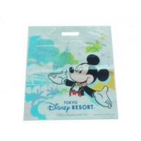 Recyclable Custom Printed die cut Disney Shopping Bag with HDPE  /LDPE Material Manufactures