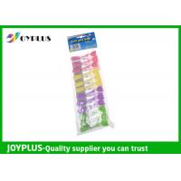 Eco - Friendly Plastic Clothes Pegs Clips For Clothes Laundry Products Manufactures