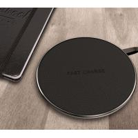 Black / White / Red Android / Iphone Samsung Galaxy Wireless Charging Pad Manufactures
