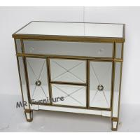 MR Furniture Mirrored Door Cabinet Corner Chest Bed Side Table Manufactures