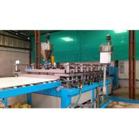 PE / PP Sheet Plastic Plate Extrusion Line , Single Screw Extruder Machine Manufactures