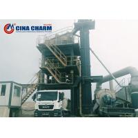 China Energy - Saving Asphalt Concrete Mixing Plant Mobile Type , 120t/H Rated Output on sale