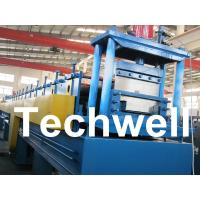 18 Forming Stations Top Hat Purlin Roll Forming Machine With Manual / Hydraulic Uncoiler Manufactures
