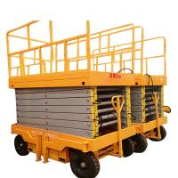 High Quality And Hot Selling ZJM1Q Electric Mobile Elevators Self-Propelled Scissor Lift Manufactures