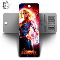 Custom Lenticular Promotional 3d Holographic Bookmarks 0.6mm PET+157g Coated Paper Manufactures