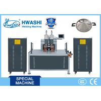 Kitchen Pan Handle Projection Stainless Steel Welding Machine , Pan Spot Welder Manufactures