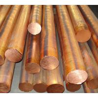Red copper solid round bar / red copper bar dia 10 - 100mm C11000 C10200 Manufactures