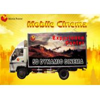 Red / Blue Mobile 5D / 9D Cinema System Blow Air / Water To Face Manufactures