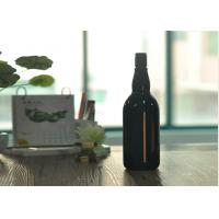 Blown Cutting Glass Wine Bottles 1 Liter Glass Liquor Bottles Customized Manufactures