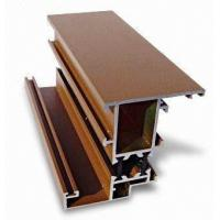 Mill Finish Aluminum Curtain Wall Profile Bronze / Black Energy Saving Manufactures