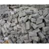 Natural Silver Grey Natural Granite Paving Slab For Driveway Covering Manufactures