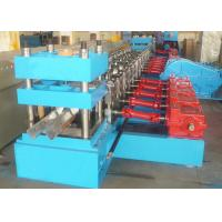 2 Waves Highway Guardrail Roll Forming Machine Gear Box Transmission High Speed Manufactures
