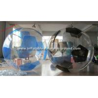 TPU Soccer Inflatable Water Walking Ball , Water Walker With Durable Rope Cord Manufactures
