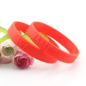 customized logo silicone bracelets wristband Manufactures