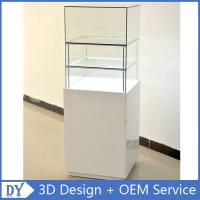 Quality Popular 2 Layers Glass Jewellery Display Cabinets With Free 3D Design Service for sale