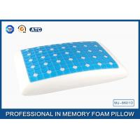 Reversible Ventilated Cooling Gel Memory Foam Pillow With Air Holes 60X40CM Size Manufactures