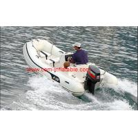 Quality rigid hull inflatable boat inflatable battery powered boat inflatable pontoon for sale