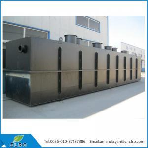 China Underground Domestic Sewage Treatment Equipment on sale