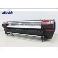 Solvent Inkjet Printer Crystaljet 4000 Outdoor Printing Machine With Seiko 510 Heads Manufactures