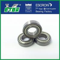 China Sealed Deep Groove Bearing Non - Separable , Metal Ball Bearings Low Vibration on sale